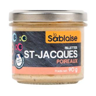 Rillettes st jacques poireaux - The Gastronomie House Lyon