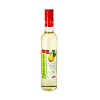 sirop citron cédrat - The Gastronomie House Lyon