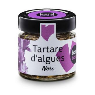 tartare algues nori - The Gastronomie House Lyon