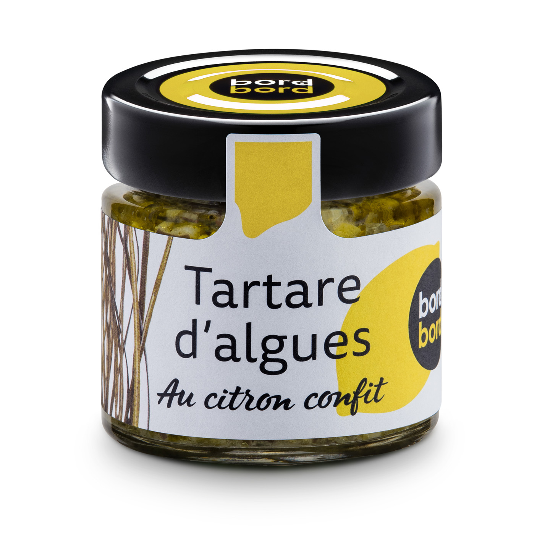 tartare algues citron confit - The Gastronomie House Lyon