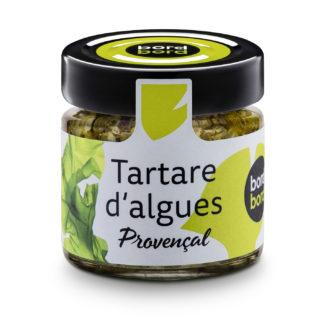 tartares d'algues provencal - The Gastronomie House Lyon