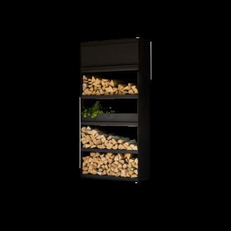 Mobilier rangement noir Ofyr - The Gastronomie House Lyon