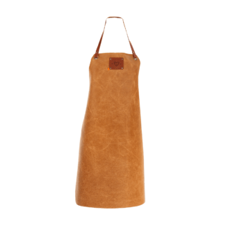 Xapron Tablier en cuir cognac - The Gastronomie House Lyon