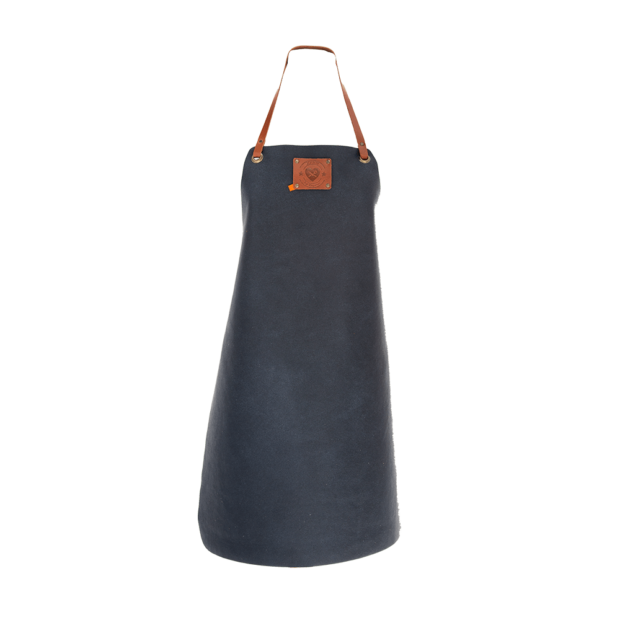 Tablier cuir Femme Xapron - The Gastronomie House Lyon