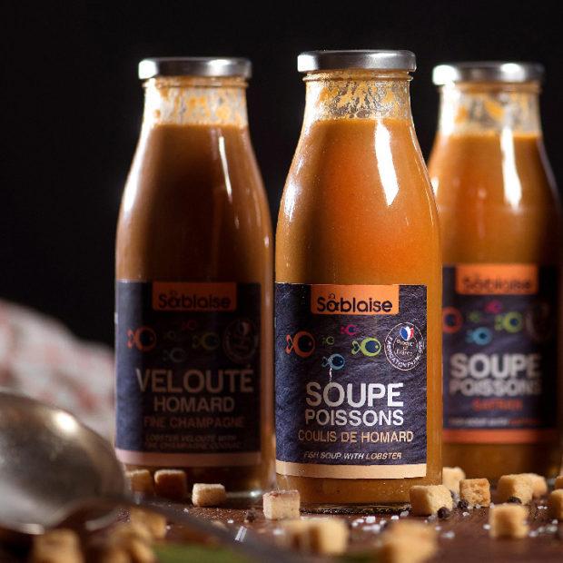Soupes et condiments