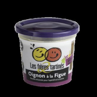 Tartinade Oignon Figue 2 frères tartinés - The Gastronomie House Lyon