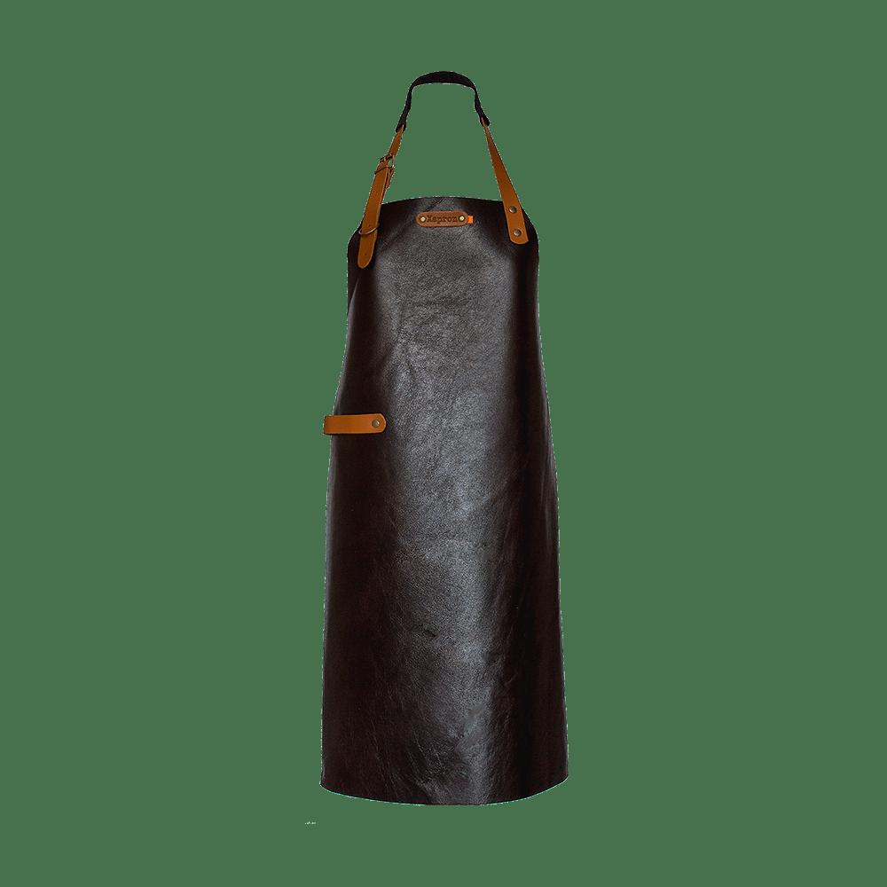 Xapron Tablier en cuir Noir - The Gastronomie House Lyon