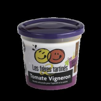 Tartinade tomate vigneron 2 freres tartines - The Gastronomie House Lyon