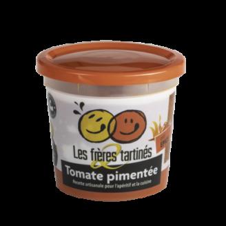 Tartinade tomate pimentee 2 freres tartines - The Gastronomie House Lyon