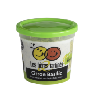 Tartinade Citron Basilic freres tartinés - The Gastronomie House Lyon