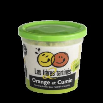 Tartinade orange cumin 2 freres tartines - The Gastronomie House Lyon