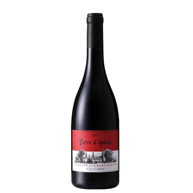 Vin rouge Grangeneuve - The Gastronomie House Lyon
