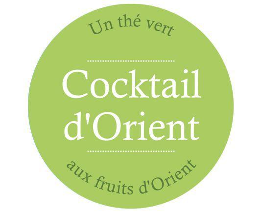 Thé vert ananas fruit orient - The Gastronomie House Lyon