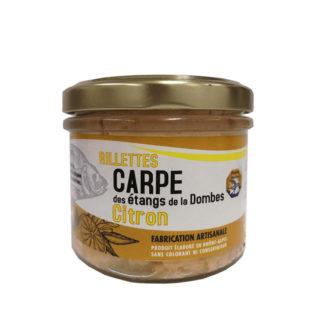 Rillettes Carpe Citron - The Gastronomie House Lyon