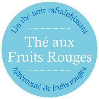 Thé Noir Fruits rouges aromatisé - The Gastronomie House Lyon