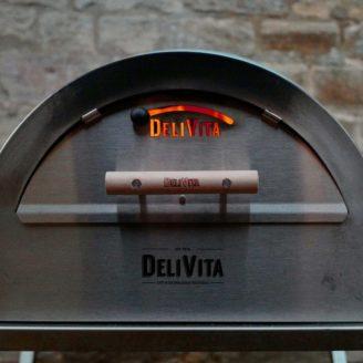 DELIVITA Porte INOX Four à bois - The Gastronomie House Lyon
