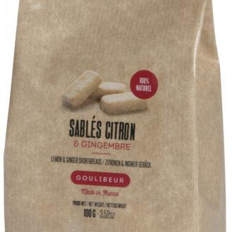 Sablés sucrés Citron - The Gastronomie House Lyon