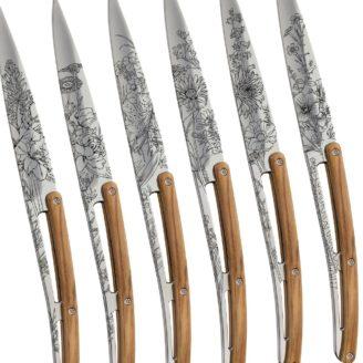 Set de 6 couteaux deejo - The Gastronomie House Lyon